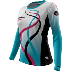 Cancer Tries + Womens Long Sleeve REC T Elite