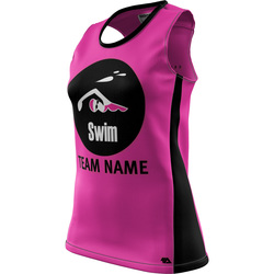 "Swim ""Custom Team"" Womens REC Singlet Elite"