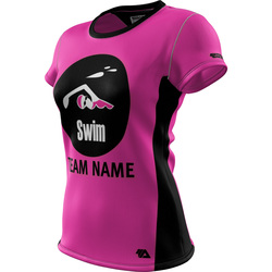 "Swim ""Custom Team"" Womens SS REC T Elite"