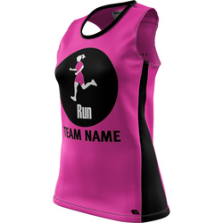"Run ""Custom Team"" Womens REC Singlet Elite"