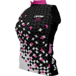 "I Tri For ""Customized Name"" + Womens Sleeveless REC Cycling Jersey"