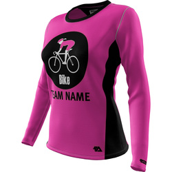 "Bike ""Custom Team"" Womens LS REC T Elite"